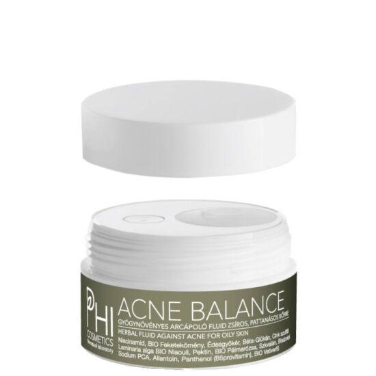 PHI Acne Balance Niacinamidos arcápoló fluid zsíros, pattanásos bőrre 30ml
