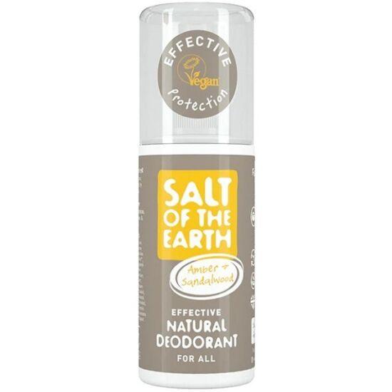 Salt of the Earth Dezodor spray - Borostyán és szantálfa 100ml