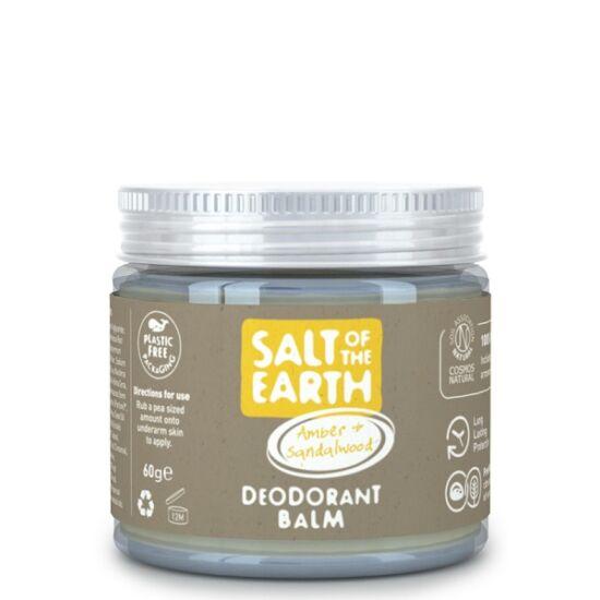 Salt of the Earth Krémdezodor - Borostyán és szantálfa 60g