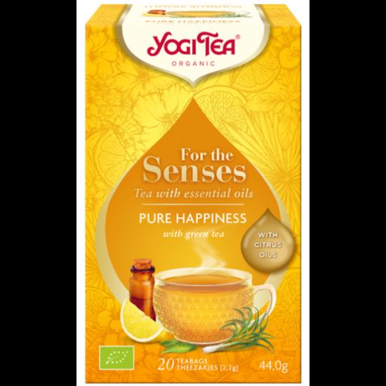 Yogi Tea 'Az érzékeknek' -  Tiszta boldogság, 20 filter x 2g (40g)