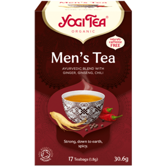 Yogi Tea Férfi, 17 filter x 1.8g (30.6g)