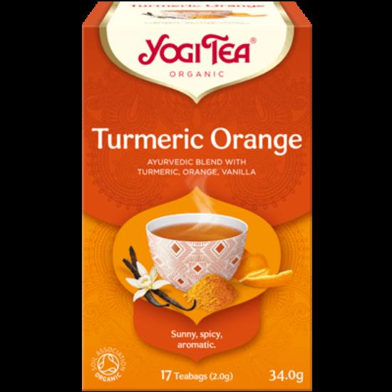 Yogi Tea Kurkumás narancs, 17 filter x 2.g (34g)