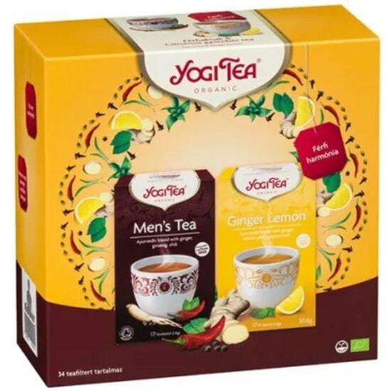 Yogi Ajándékcsomag Yogi teákkal - Férfi harmónia szett 2 x 17 filter (61,2g)