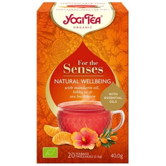 Yogi Tea 'Az érzékeknek' - Természetes Jóllét , 20 filter x 2g (40g)