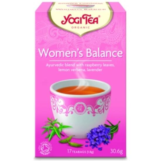 Yogi Tea Női egyensúly, 17 filter x 1.8g (30.6g)