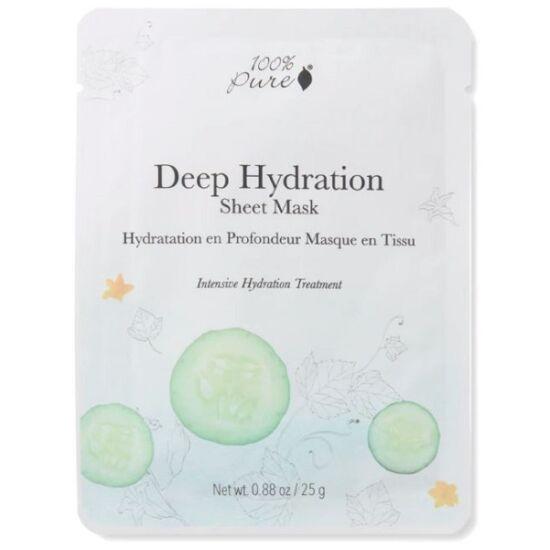 100% Pure Fátyolmaszk - Mélyhidratáló 25g