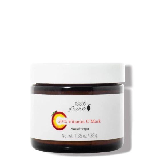 100% Pure Pormaszk 50% C vitaminnal 38g