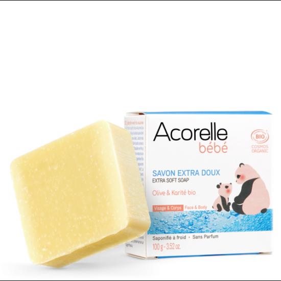 Acorelle Extra enyhe baba szappan 100g