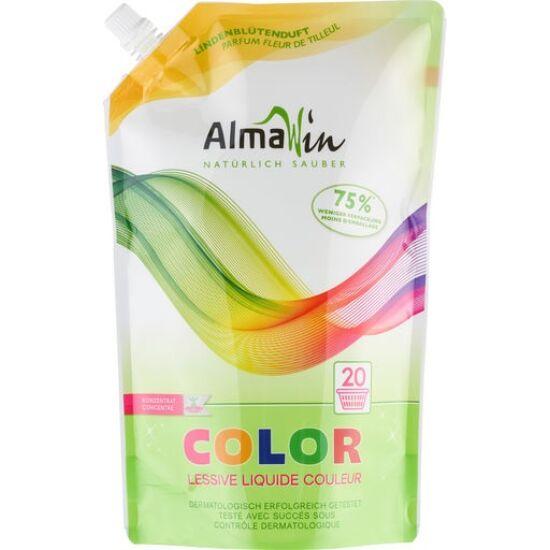 AlmaWin Color folyékony mosószer koncentrátum színes ruhákhoz  hársfavirág kivonattal