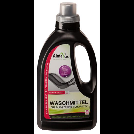 AlmaWin Öko folyékony mosószer koncentrátum sötét és fekete ruhához - 25 mosásra 750ml