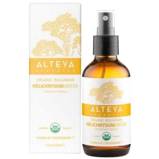 Alteya Organics Bio virágvíz - Immortelle - Olasz szalmagyopár (Helichrysum italicum) 120ml