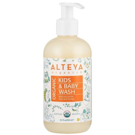 Alteya Organics Baba sampon és fürdető 250ml