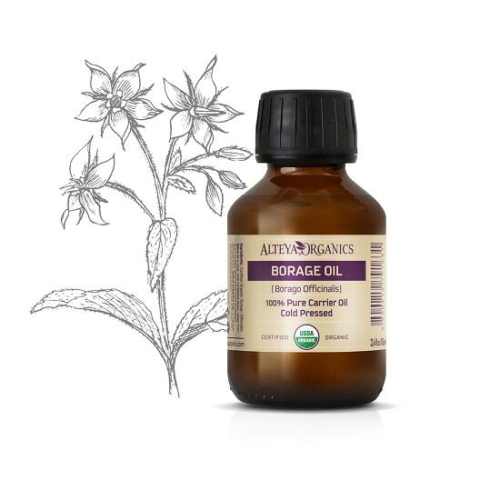 Organic Harmony Alteya Organics Borágó olaj (Borago officinalis) - bio 100ml