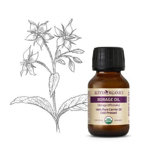 Alteya Organics Borágó olaj (Borago officinalis) - bio 50ml