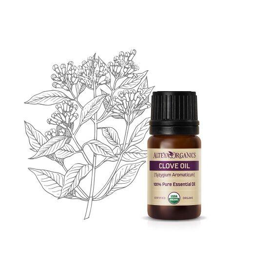 Alteya Organics Szegfűszeglevelek (Syzygum aromaticum) illóolaj - bio 5ml