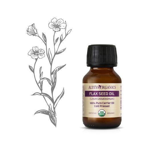 Organic Harmony Alteya Organics Lenmag olaj (Linum Usitatissimum) - bio 50ml