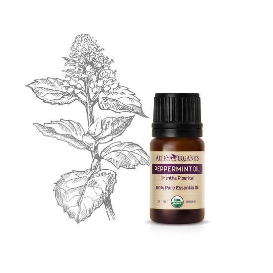 Alteya Organics Borsmenta (Mentha piperita) illóolaj - bio 5ml
