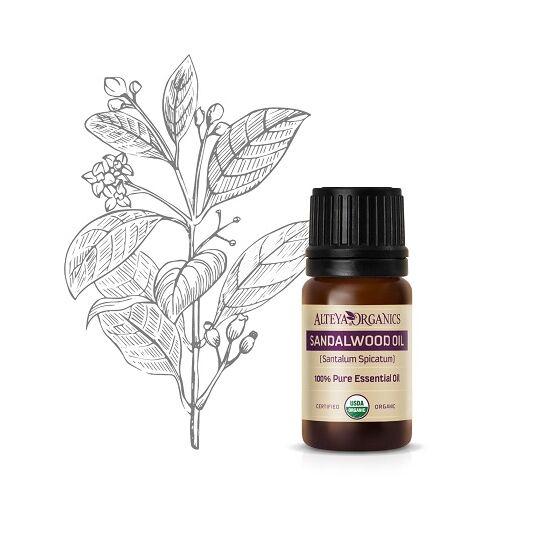 Alteya Organics Szantálfa (Santalum spicatum) illóolaj - bio 5ml