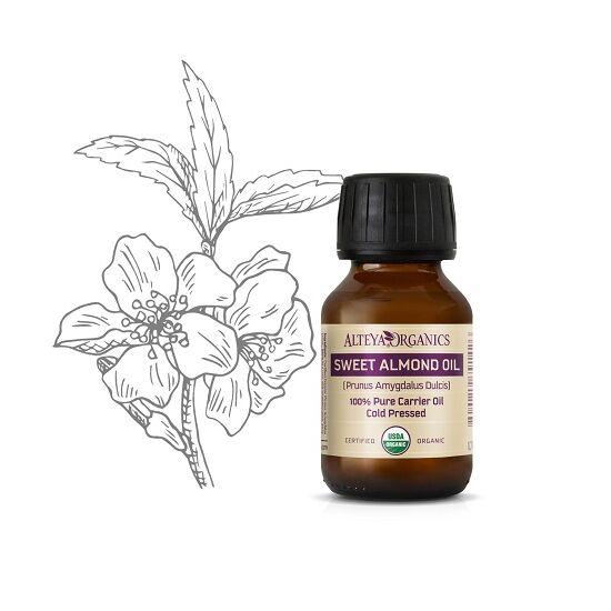 Organic Harmony Alteya Organics Édesmandula olaj (Prunus dulcis) - bio 50ml