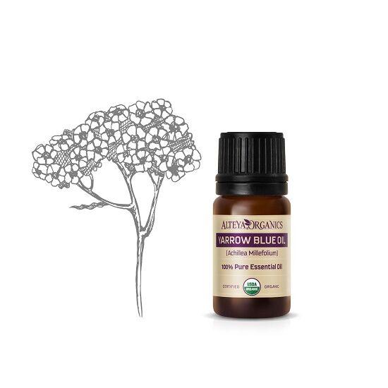 Alteya Organics Cickafark (Achillea millefolium) illóolaj - bio 5ml