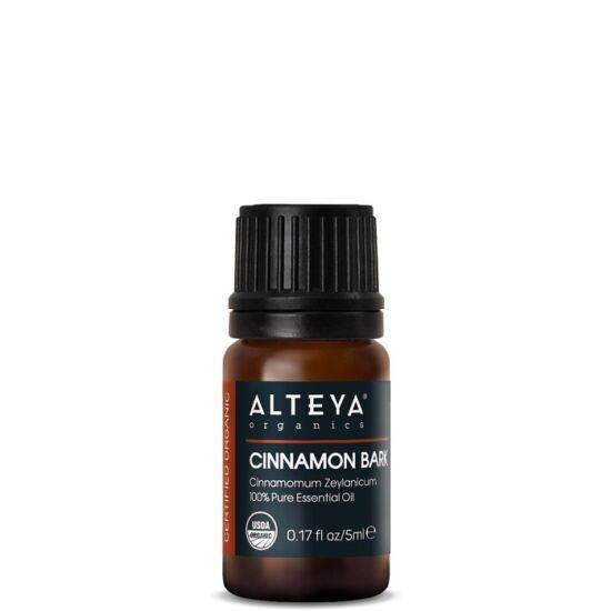 Alteya Organics Fahéj kéreg (Cinnamomum zeylanicum) illóolaj - bio 5ml
