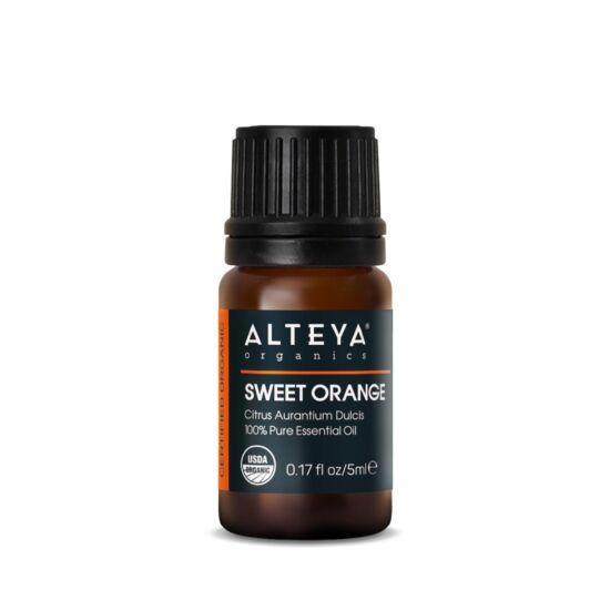 Alteya Organics Narancs édes (Citrus aurantium dulcis) illóolaj - bio 5ml