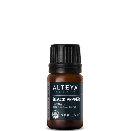 Organic Harmony Alteya Organics Bors, fekete (Piper nigrum) illóolaj - bio 5ml