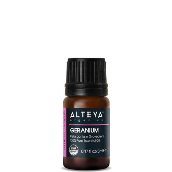 Alteya Organics Geránium (Pelargonium graveolens) illóolaj - bio 5ml