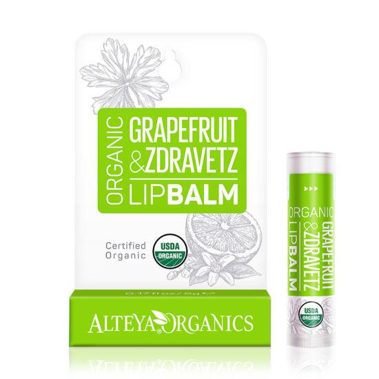 Alteya Organics Bio Ajakápoló - Grapefruit és zdravetz 5g