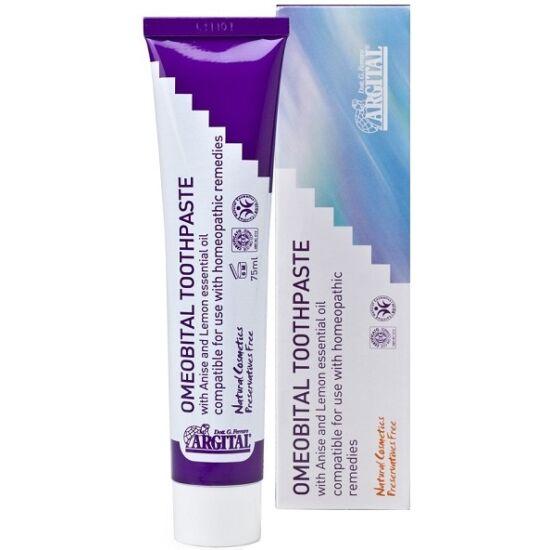 Argital Homeopátiás fluoridmentes fogkrém 75ml