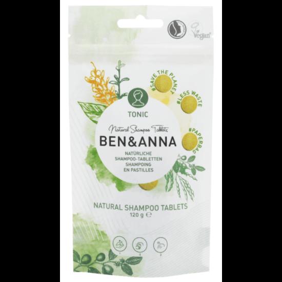 Ben & Anna Hajtisztító tabletta - Tonic 120g (24db)