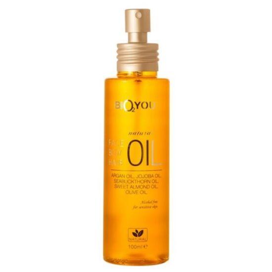 Bio2You Natúr argán olajos arc, test és hajápoló olaj 100ml