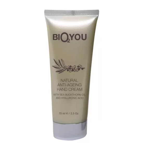 Bio2You Natúr kézkrém - Anti-ageing homoktövis 75ml