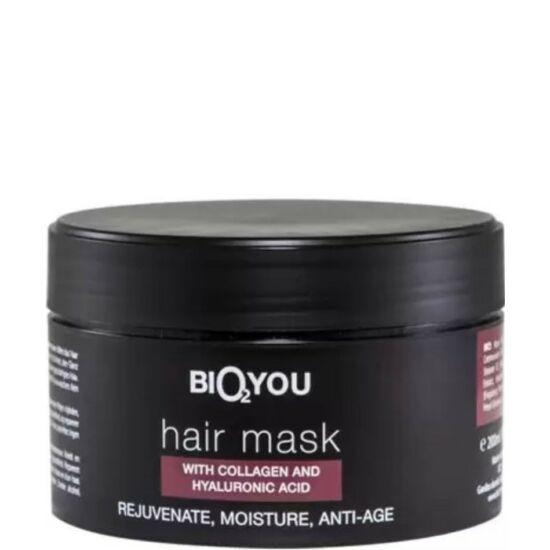 Bio2You Natúr haj maszk kollagénnel és hialuronsavval 200ml