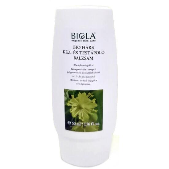 Biola Bio hárs kéz- és testápoló balzsam 50ml