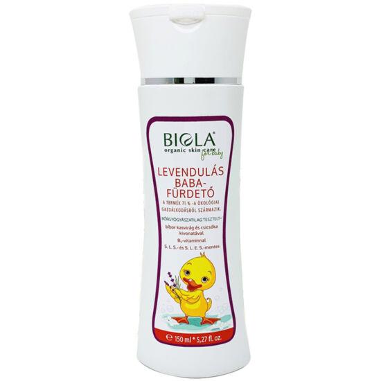 Biola Bio levendulás babafürdető 150ml