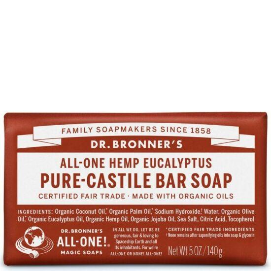 Dr. Bronner's Eukaliptusz szilárd szappan 140g