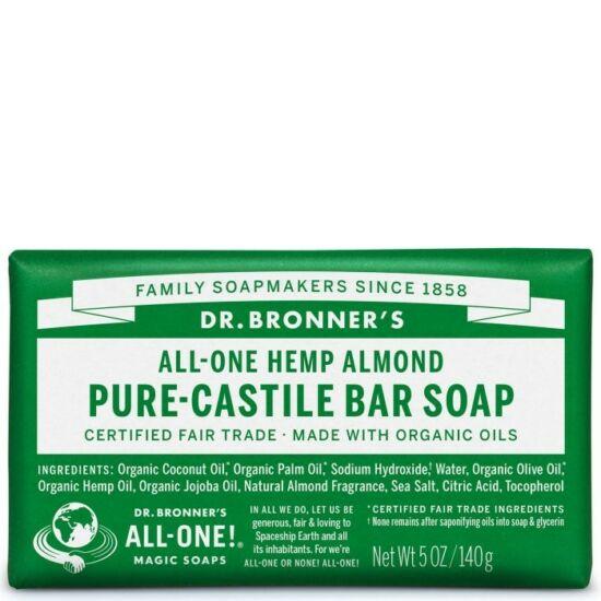 Dr. Bronner's Mandula szilárd szappan 140g
