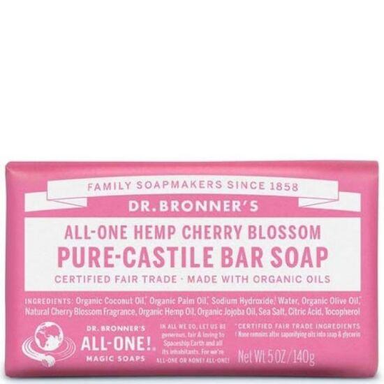 Dr. Bronner's Cseresznyevirág szilárd szappan 140g