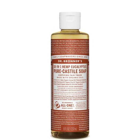 Dr. Bronner's Eukaliptusz folyékony szappan koncentrátum 240ml