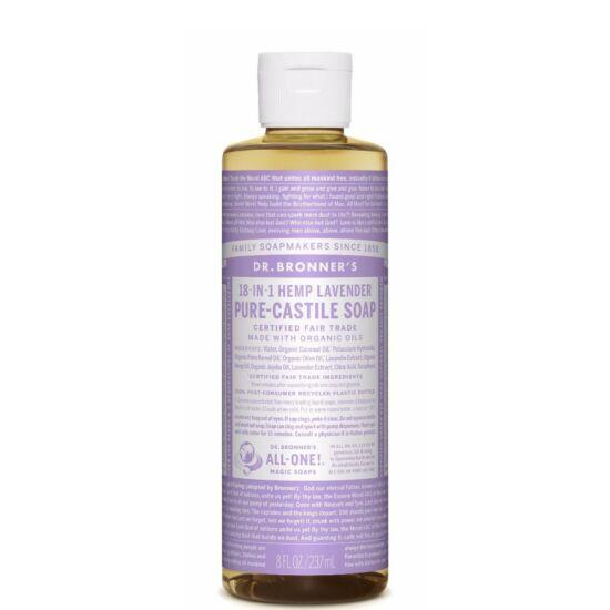 Dr. Bronner's Levendula folyékony szappan koncentrátum 240ml