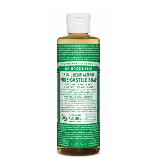 Dr. Bronner's Mandula folyékony szappan koncentrátum 240ml