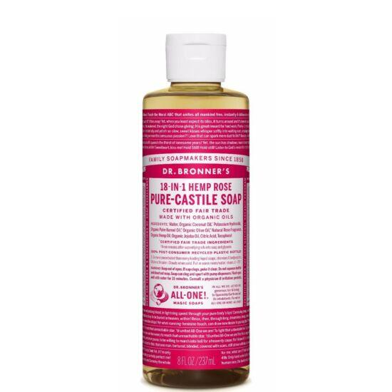 Dr. Bronner's Rózsa folyékony szappan koncentrátum 240ml