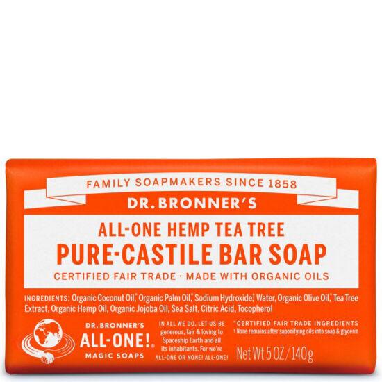 Dr. Bronner's Teafa szilárd szappan 140g