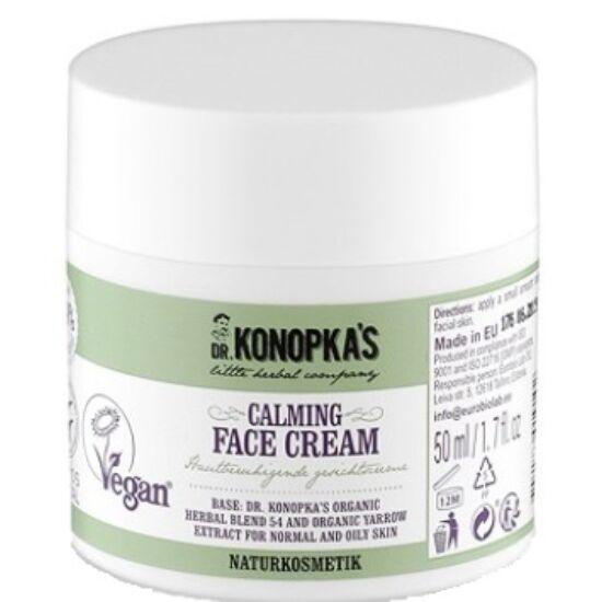 Dr. Konopka Nyugtató-tápláló arckrém 50ml