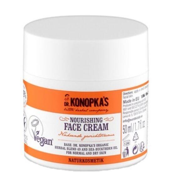 Dr. Konopka Tápláló arckrém 50ml
