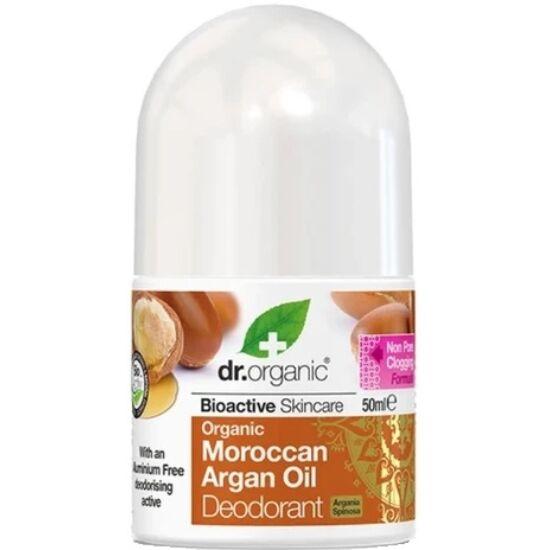 Dr. Organic Alumíniummentes golyós dezodor bio argánolajjal 50ml