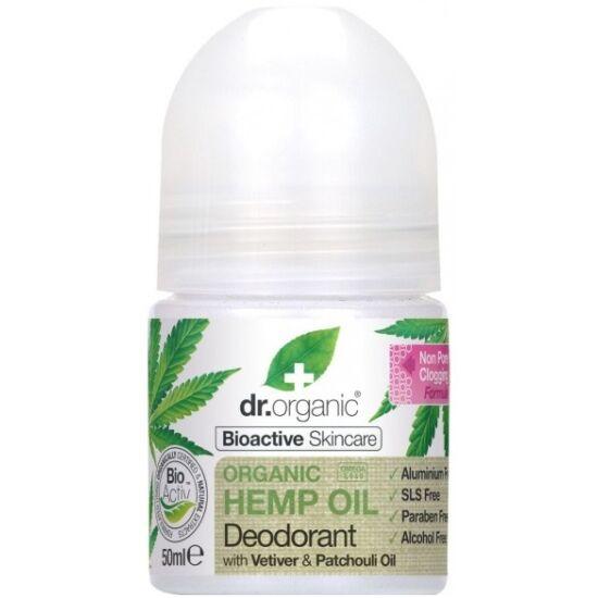 Dr. Organic Alumíniummentes golyós dezodor bioaktív kendermagolajjal 50ml