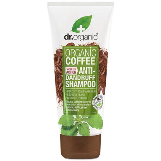 Dr. Organic Korpásodás elleni sampon bio kávéval 200ml