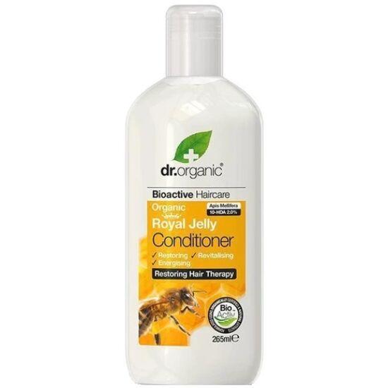 Dr. Organic Hajkondicionáló bio méhpempővel 265ml